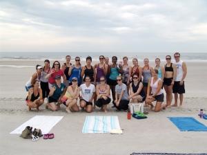 jacksonville beach bootcamp workout
